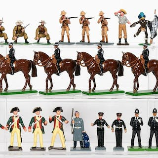24 Pc, Grouping of Toy Soldiers