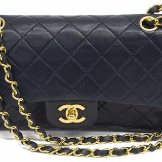 79927e060425 CHANEL CLASSIC DOUBLE FLAP QUILTED LEATHER SHOULDER BAG – Current sales –  Barnebys.com