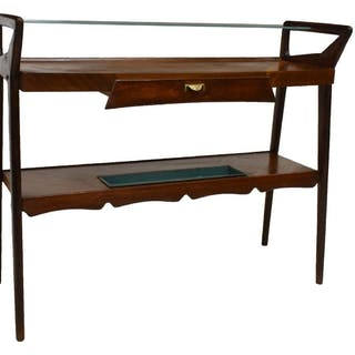 ITALIAN MID-CENTURY CONSOLE TABLE MANNER OF PARISI