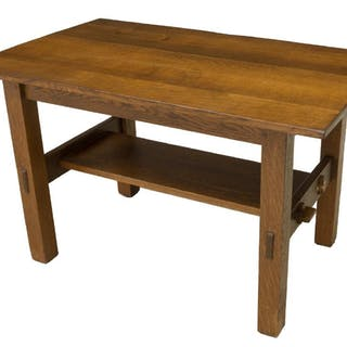 GUSTAV STICKLEY CRAFTSMAN WORKSHOP LIBRARY TABLE