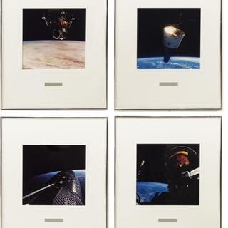 (4) PHOTOGRAPHIC PRINTS OF OUTER SPACE