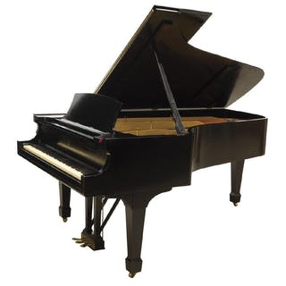 "STEINWAY & SONS 7'2"" EBONIZED GRAND PIANO, C.1891"