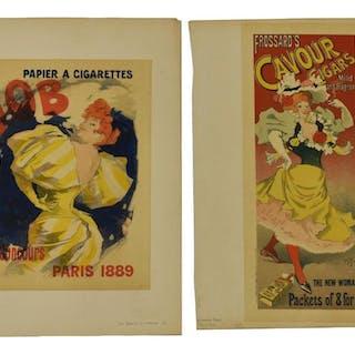(2) COLOR LITHOGRAPHS FROM MAITRES DE L'AFFICHE