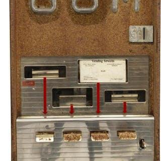 VINTAGE SUPERIOR MFG. CO. 5-CENT GUM MACHINE