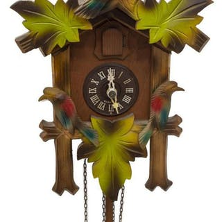 VINTAGE GERMAN BLACK FOREST CUCKOO CLOCK