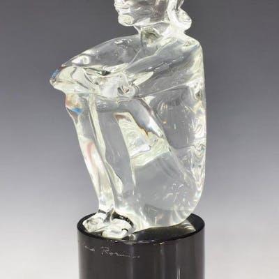LOREDANO ROSIN (D.1991) MURANO ART GLASS SCULPTURE