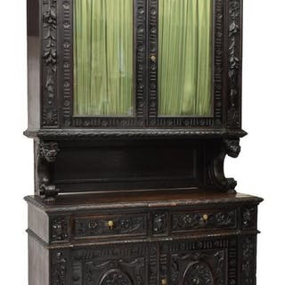 FRENCH RENAISSANCE REVIVAL DEUX CORPS SIDEBOARD