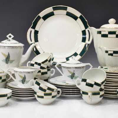 (55) GROUP OF PORCELAIN TEA & COFFEE SERVICES