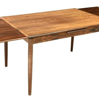 DANISH MID-CENTURY MODERN EXTENSION DINING TABLE