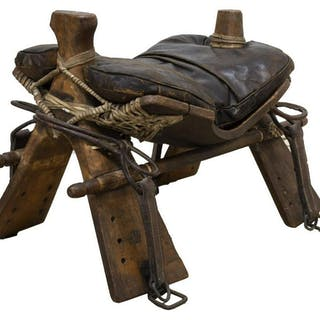 BRITISH WORLD WAR 1 IMPERIAL CAMEL CORPS SADDLE