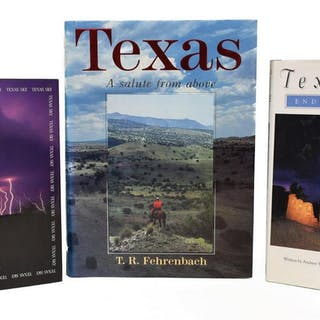 (2) AUTOGRAPHED TEXAS PHOTOGRAPHY BOOKS