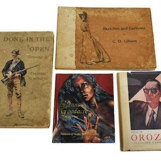 ART BOOKS, GOODACRE, GIBSON, OROZCO, GIBSON