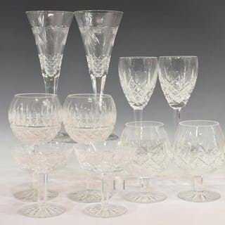 10) COLLECTION OF WATERFORD CUT CRYSTAL STEMWARE