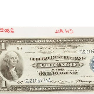 Four US Bank Notes