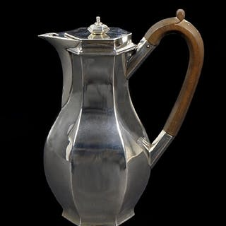 A George V Silver Coffee Pot.