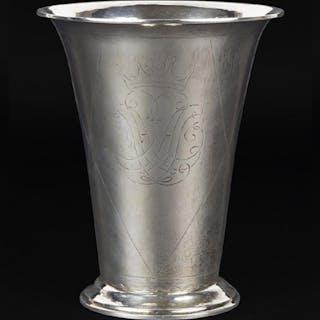 A Swedish Silver Vase.