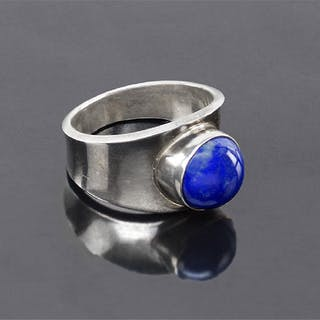 A Georg Jensen Lapis Ring.