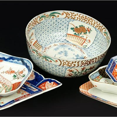 A Collection of Asian Porcelain Table Articles.