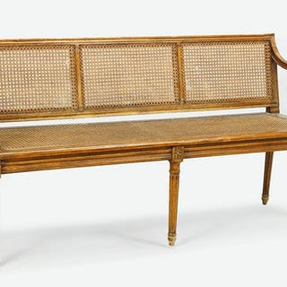 A 19th Century Settee.