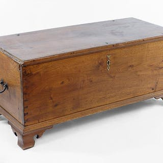A 19th Century American Blanket Chest.