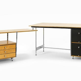 A Charles and Ray Eames for Herman Miller ESU Desk and