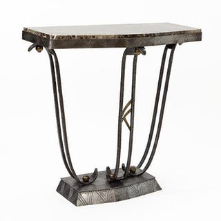 A French Art Deco Console Table.