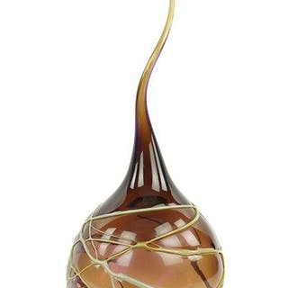 A Victor Chiarizia Glass Vase.