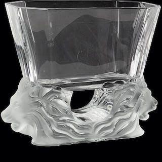 A Lalique 'Venise' Vase.