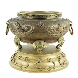 A Chinese Bronze Censer.