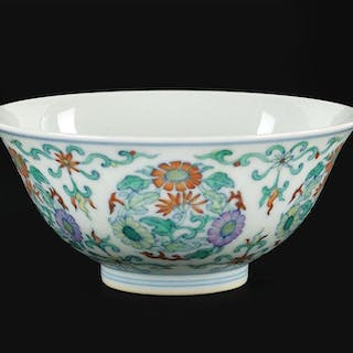 A Chinese Doucai Porcelain Bowl.