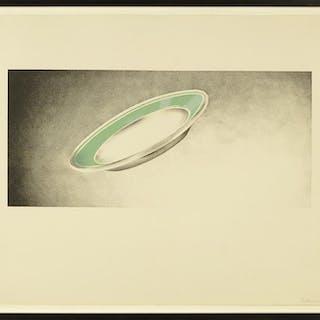 Ed Ruscha (American, B. 1937) Plate.