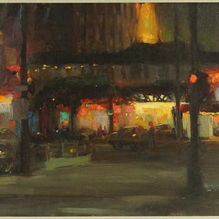 Richard Schmid (American, B. 1934) State & Lake