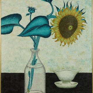 Peter Orlando (American, 1921-2009) Sunflower.