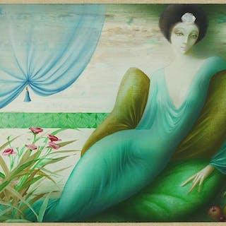 Philippe Auge (French, B. 1935) La Divine Insolence.