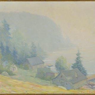 Carl W. Rawson (American, 1884-1970) Misty Morn - Lake