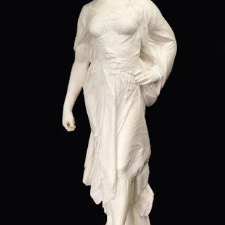 Edouard Drouot (French, 1859-1945) Female Figure.