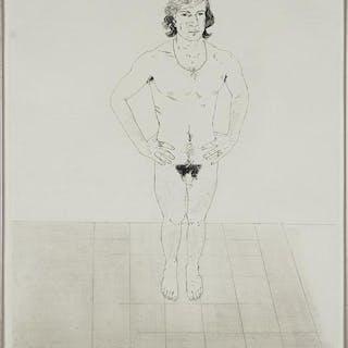 David Hockney (British, B. 1937) Peter.