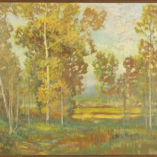 Dave Stirling (American, 1887-1971) The Gulch, Estes