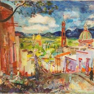 Francis Chapin (American, 1899-1965) San Miguel de