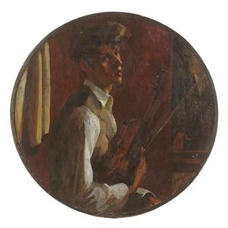Francis Chapin (American, 1899-1965) Self Portrait with