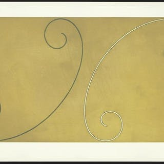 Robert Mangold (American, B. 1937) Double Curled