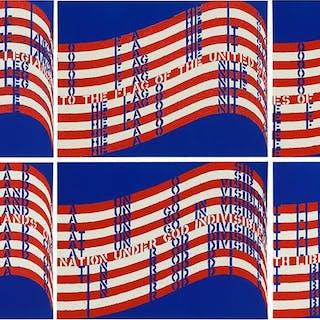 Vito Acconci (American, 1940-2017) Wavering Flag.