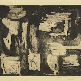 Louise Nevelson (Russian/American, 1899-1988)