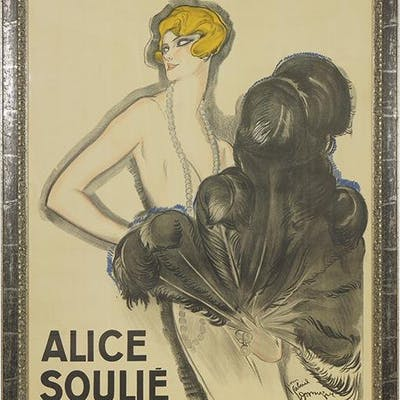 Jean Gabriel Domergue (French, 1889-1962) Alice Soulie.