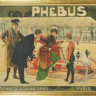 Artist Unknown (French, 19th - 20th Century) Phebus.