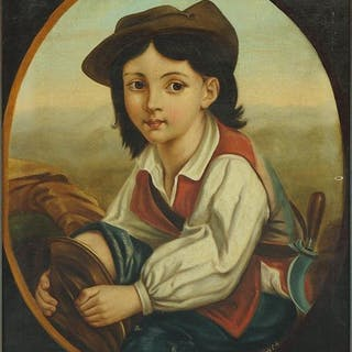 Artist Unknown (Continental, 19th Century) Portrait of