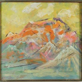 Lloyd Lozes Goff (American, 1917-1983) Indian Spring.