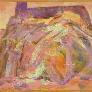 Lloyd Lozes Goff (American, 1917-1983) Acoma.