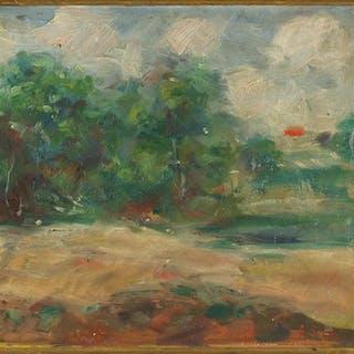 William Georg Erle (German, 1878-1967) Landscape.