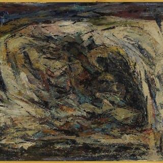 C. Evans (American, 20th Century) The Mine Entrance.
